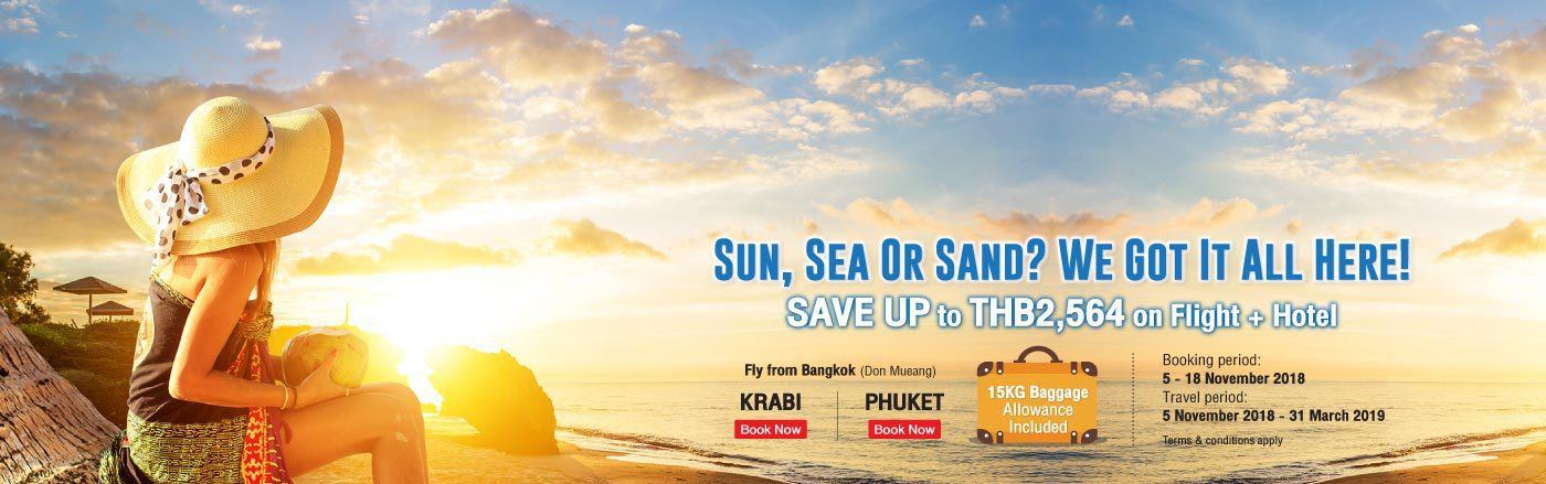 holiday at Phuket and Krabi